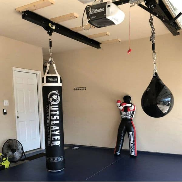 ProMountings Track Combo | Punch Bag Rolling Rail System | Reflex UK